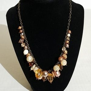 Avenue multi bead statement necklace 4p4